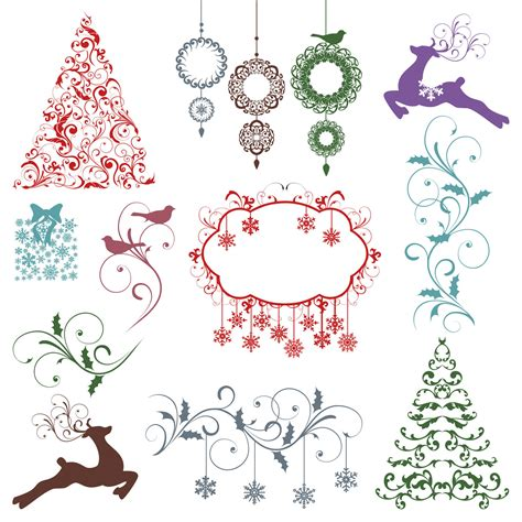 pattern photoshop noel christmas photoshop brushes christmas silhouettes photoshop