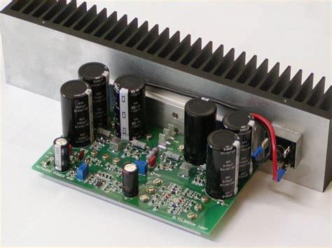 Power Lifier Monoblock Hifi Power Lifier Electronics Projects Circuits