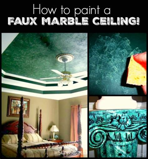 how to paint faux marble how to paint a faux marble ceiling