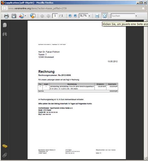 Schreiben Offene Rechnung Muster Erstellte Rechnungen