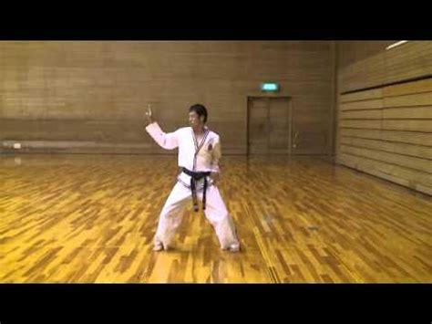 youtube taekwondo pattern 4 new taekwondo pattern no3 ryouma youtube