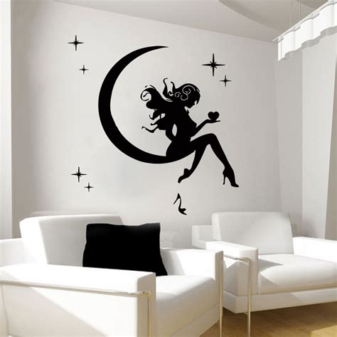 wall decals fairy decal vinyl sticker bathroom kitchen bedroom decor art mn ebay