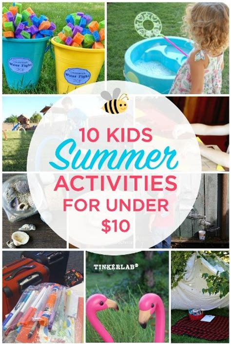 10 Summer Activities by 10 Summer Activities That Are 10 Tinkerlab