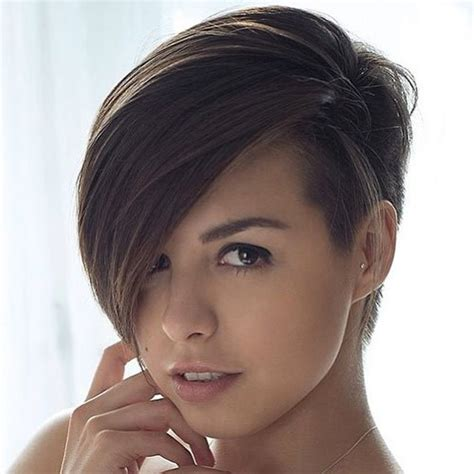 side cut hairstyles pixie undercut for straight and curly hair