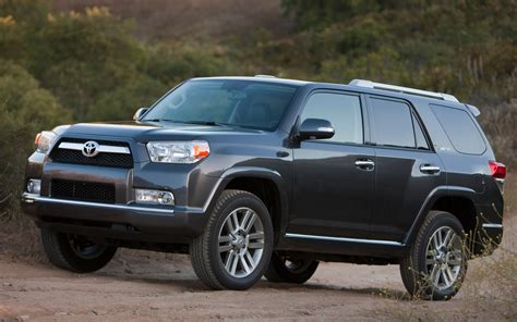 2012 Toyota 4runner Limited 2012 Toyota 4runner Limited Front Three Quarters Photo 81