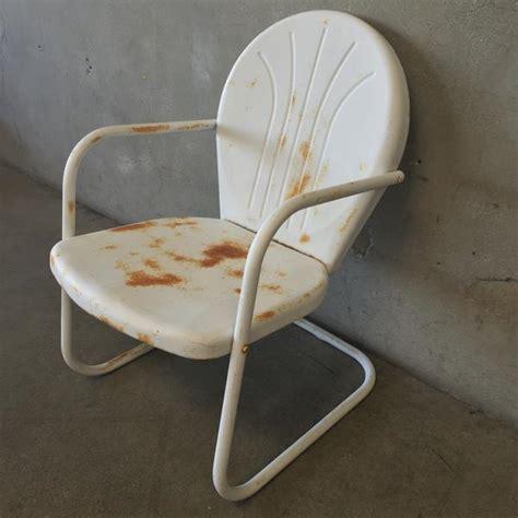 Motel Chairs Vintage by White Vintage Motel Chair Urbanamericana