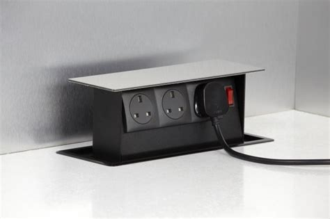 Kitchen Island Electrical Outlets s box power box worktop mounted storage for kitchen