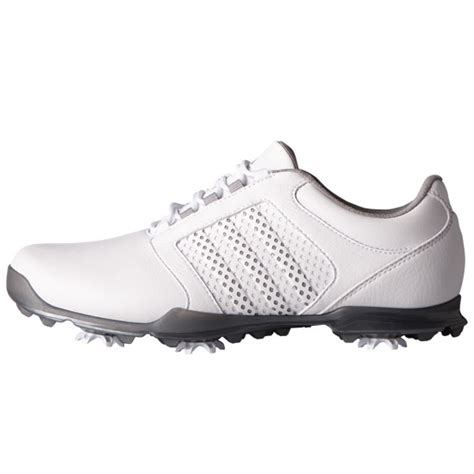 adidas 2017 womens adipure tour golf shoes white light onix iron metallic