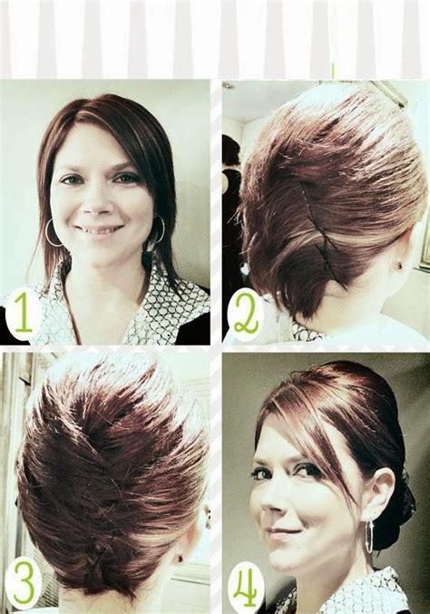 coiffure simple et rapide cheveux courts coiffure simple