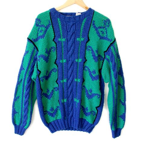 Sweater The Big big cable knit sweater baggage clothing