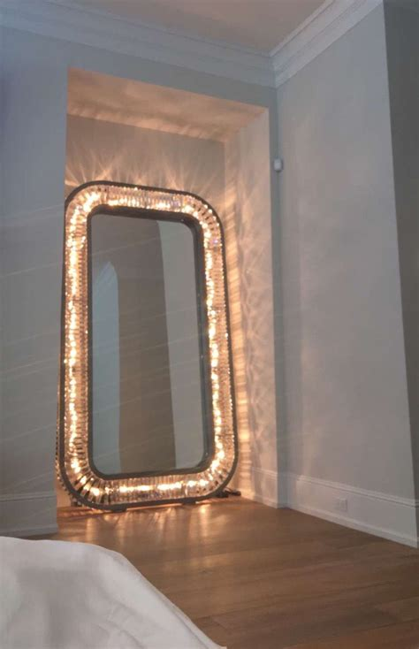 length mirror with light bulbs light up floor mirror jenner houses and other
