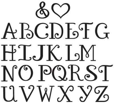 printable letters various fonts fun printable alphabet letters use some of these amazing