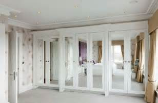 For closets with mirrored doors only parts of the closet doors can