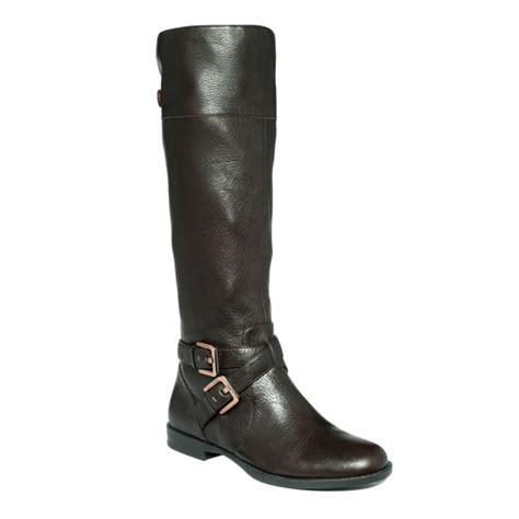 calvin klein boots calvin klein hayden boots in brown brown lyst