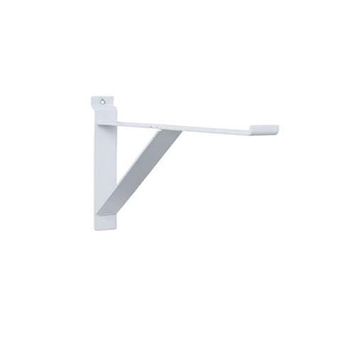 Heavy Duty Glass Shelf Brackets by 12 Quot Heavy Duty Slatwall Shelf Brackets With Support