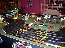 Rally Auto Anchorage by Scalextric Wikip 233 Dia