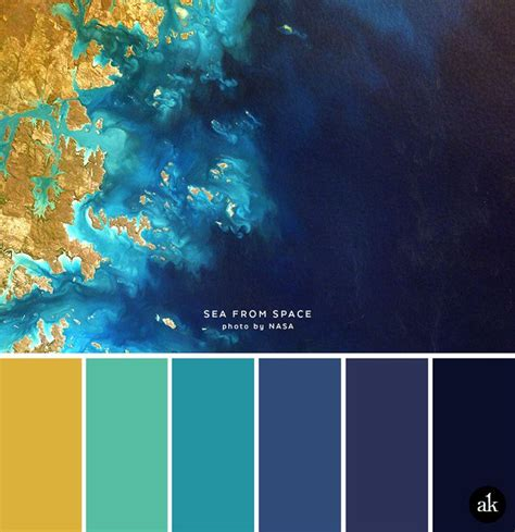 colors in space a sea and space inspired color palette aqua blue aqua