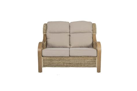 shore wicker rattan conservatory furniture sofa