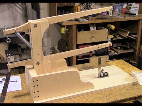 Gergaji Scroll Saw assemble a drill powered scroll saw part 2 saw arm assembly