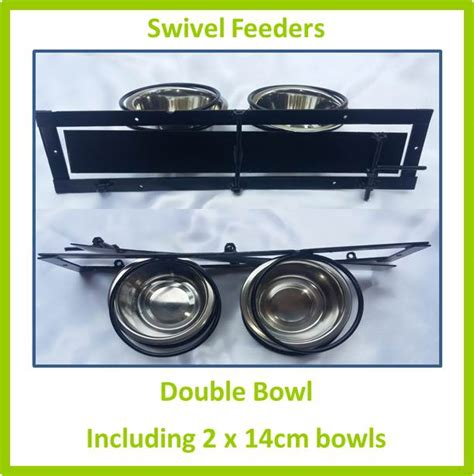 ref d036 swivel feeder double 14cm mesh for birds