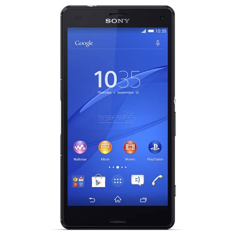 Backdoor Sony Xperia Z3 Mini Compact smartphone xperia z3 compact sony d5803black