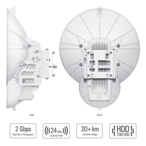 Ubiquity Af 24 Hd Airfiber 24ghz Ptp 2gbps 24 ghz point to point 1 4 gbps radio airfibre airfiber