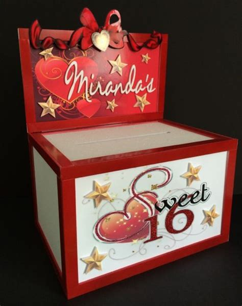 Gift Card Boxes For Parties - 23 best images about sweet 16 on pinterest sweet 16 candles sweet sixteen and gift