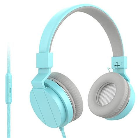 Polaroid Headphone On Ear W Light Weightsoft Ear Pad Headset H003 Wh Mxditect On Ear Headphones With Mic Lightweight And
