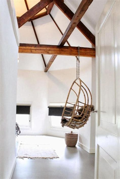 Chair Hanging From Ceiling - my favorite things a rattan hanging chair the style files