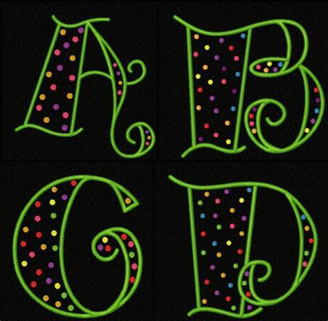 alphabet dot