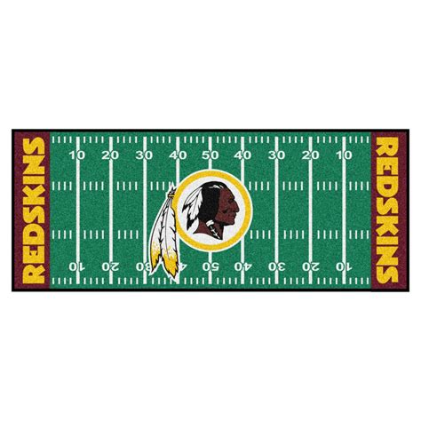 redskins paint colors home depot fanmats nfl washington redskins green 2 ft 6 in x 6 ft