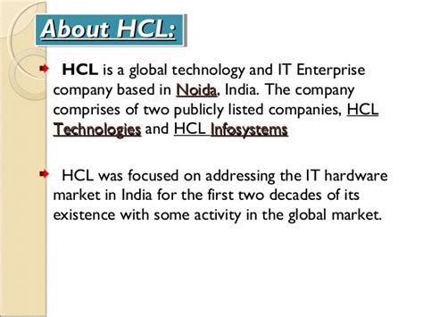 In Hcl Noida For Mba Marketing by Hcl By Abdul Gafoor