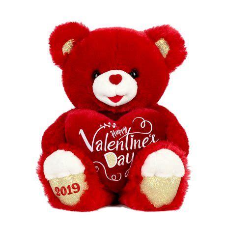 celebrate valentine red stuffed sweetheart teddy