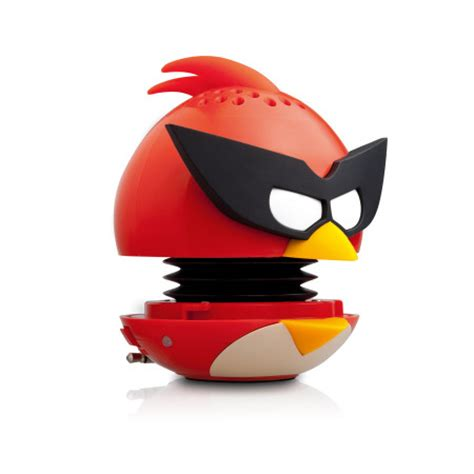 Plush Card Reader Speaker Yellow Angry Birds Mini Speaker gear4 angry birds g4pg782g mini speaker space bird