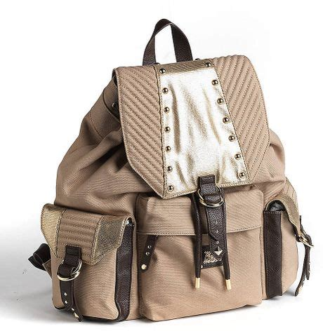 Couture Designer Handbags For The Younger Generation by Couture And Free Rucksack In Beige Camel