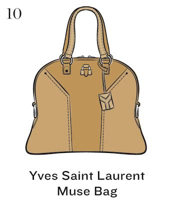 10 Fabulous Yves Laurent Bags by Fashionistas Daily Top 50 Signature Handbags