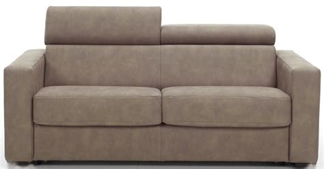 canape taupe cuir canap 233 fixe avec t 234 ti 232 res rev 234 tement cuir taupe lova
