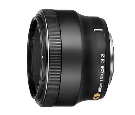 Nikon 1 Nikkor 32mm F 1 2 Silver 1 nikkor 32mm f 1 2 lens 1 nikkor lens from nikon