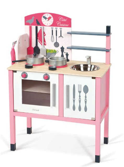 Janod Childs Wooden Toy Maxi Cooker Play Kitchen NEW Design