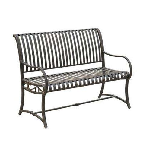metal garden bench home depot outdoor benches patio chairs patio furniture