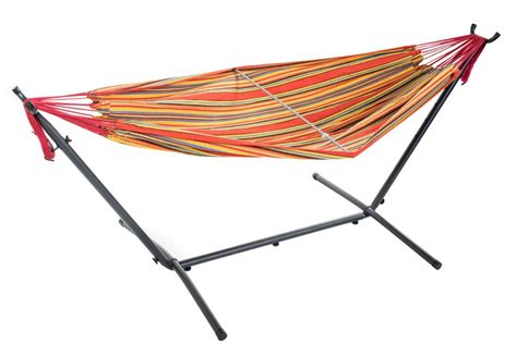 free standing hammock free standing hammock large multi colour orange