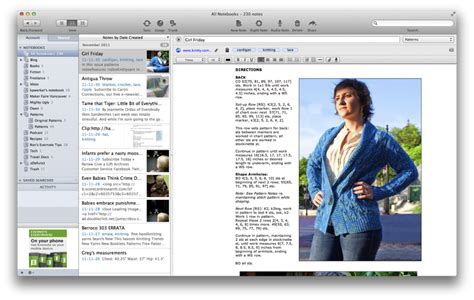 evernote pattern library how i use evernote as a writer and crafter kim werker
