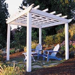 How To Build A Arbor Pergola by How To Build A Backyard Pergola Sunset