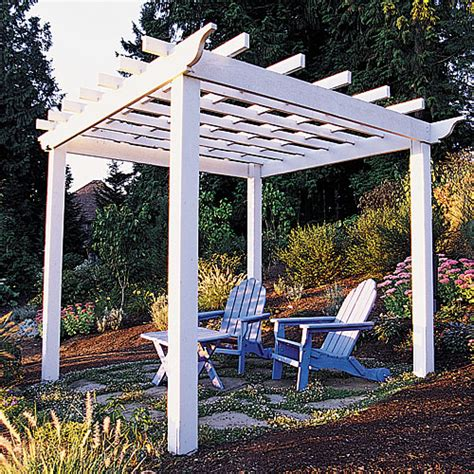 diy trellis arbor how to build a backyard pergola sunset