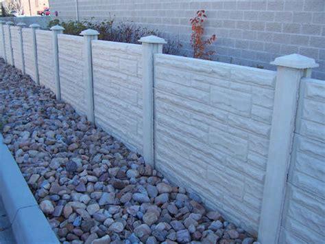 Large Concrete Planter Crete Co Concrete Fence Photos Roman