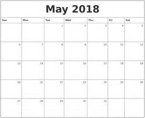 May 2018 Calendar December 2017 Calendar