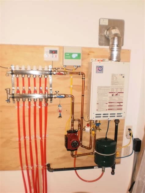 1 Room Radiant Heat Floors - radiant floor heating system x shop heating help the wall