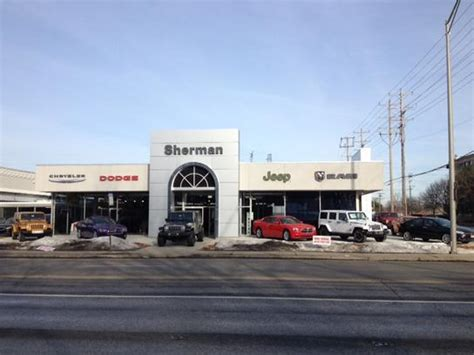 sherman dodge dealership sherman dodge chrysler jeep skokie il 60077 car
