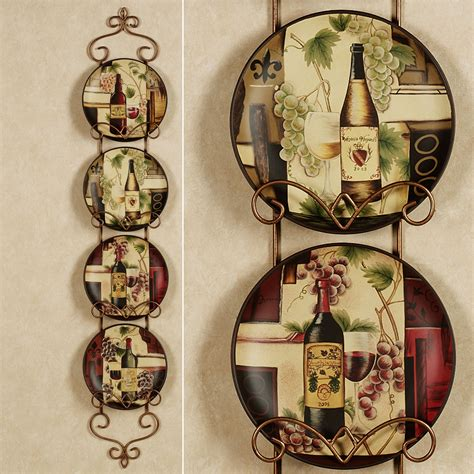 Wine Decor For Kitchen Cheap by Wine And Grape Decor For Kitchen Kitchentoday