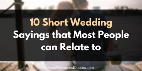 Wedding Wishes Sayings by Wedding Sayings That 95 Of Will Agree With